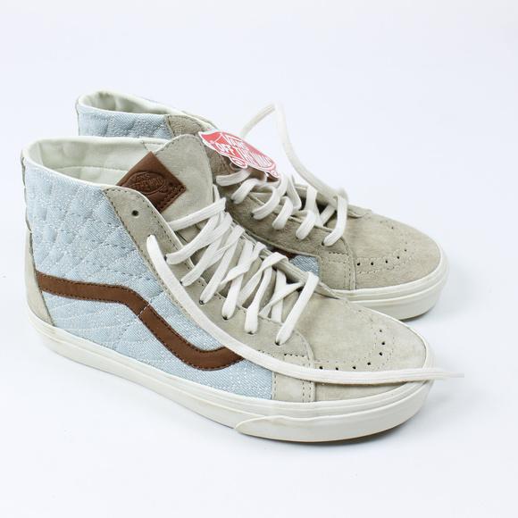 503f47e350bcf6 Vans SK8 Hi Reissue DX Suede Sneakers NWB